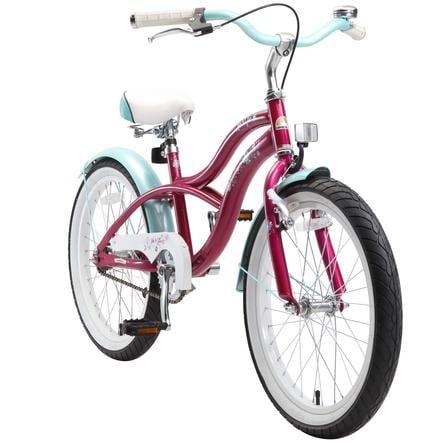 "bike star Premium child bike 20"" Cream y viola"