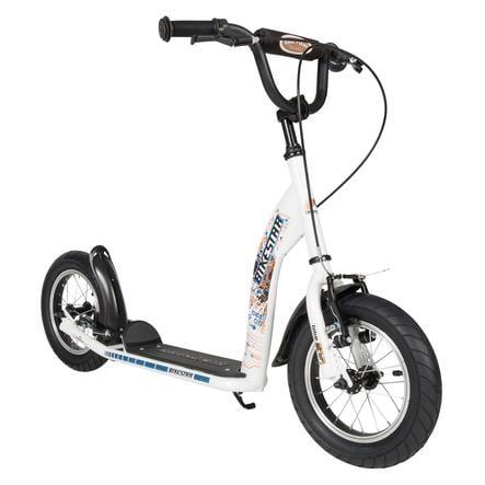 "bikestar Løbehjul 12"" Sport Hvid"