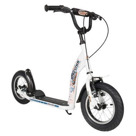 "bikestar Monopattino per bambini 12"" Sport bianco"