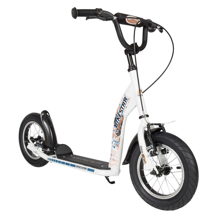 """bikestar Hulajnoga 12"""" Sport, white"""