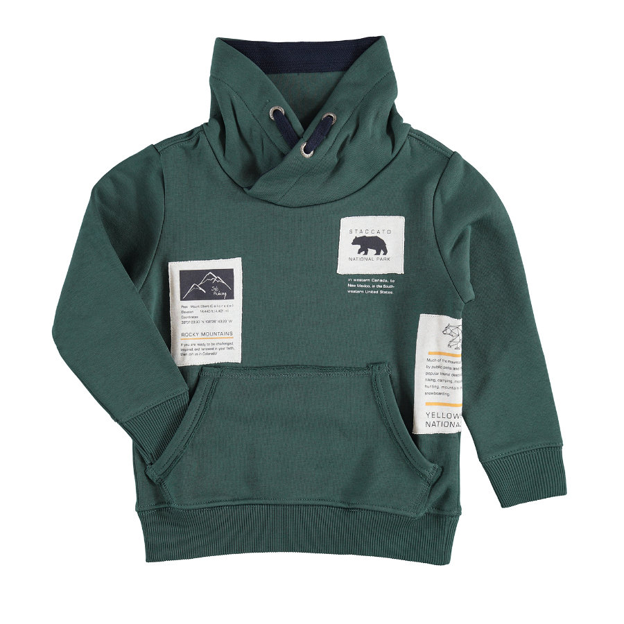 STACCATO Boys Sweat-shirt vert foncé