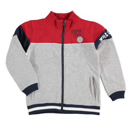 STACCATO Boys Sweatjacke grau