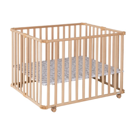 Geuther Playpen Ameli 106,5 x 90 cm natur mały Monster