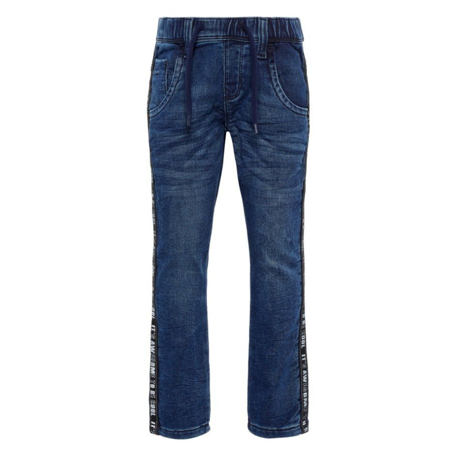 name it Boys Jeans Nmmrobin Azul Oscuro Denim