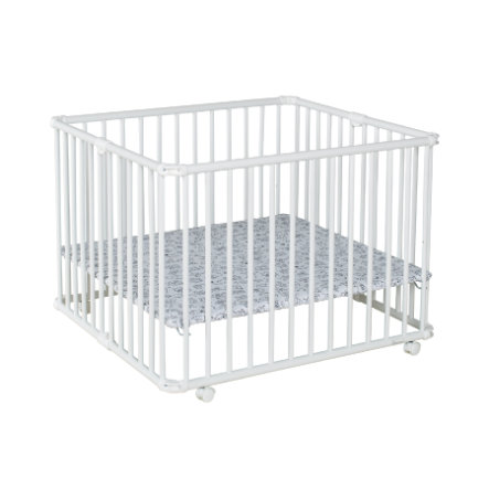 Geuther Playpen Lucilee Plus 90,2 x 97,4 cm biały mały Monster