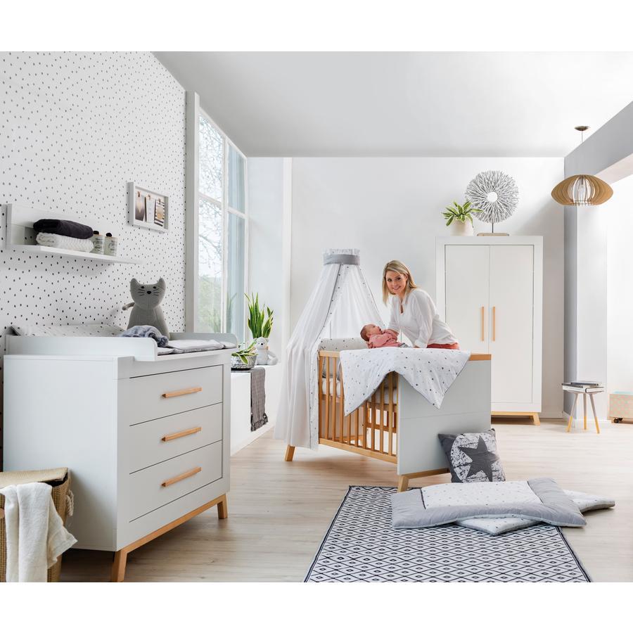 Schardt Kinderzimmer Miami White 2-türig