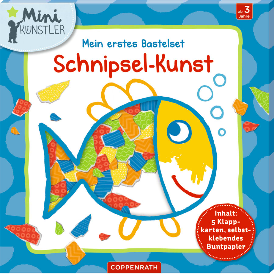 SPIEGELBURG COPPENRATH Mein erstes Bastelset: Schnipsel-Kunst Mini-Künstler