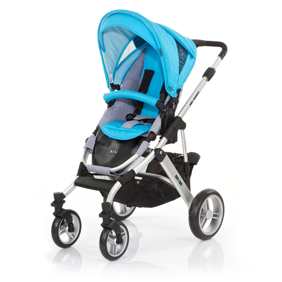 ABC DESIGN Combi Stroller Mamba rio Frame silver / graphite Collection 2015