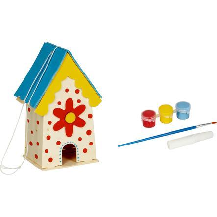 COPPENRATH ¡Píntenme! Casa de pájaros decorativa Garden Kids