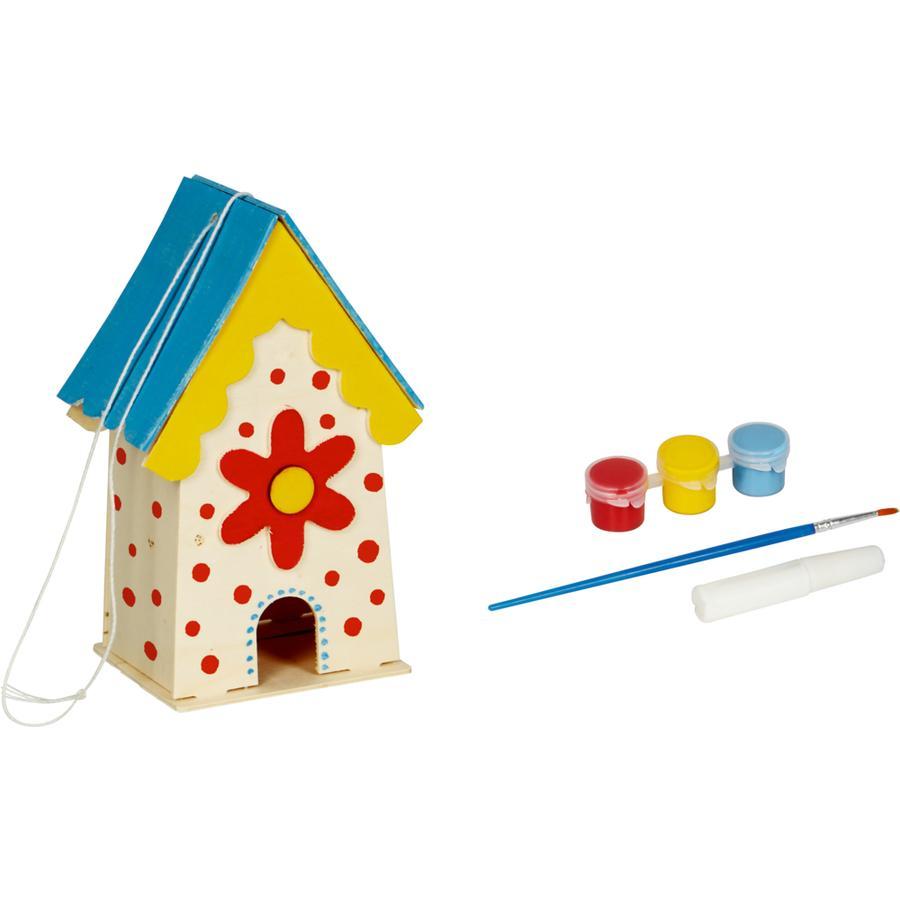COPPENRATH Paint me! Decoratief vogelhuisje Garden Kids