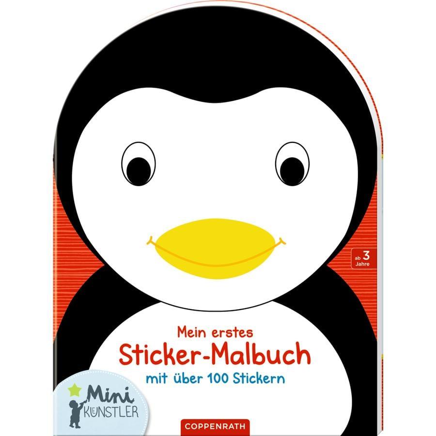 SPIEGELBURG COPPENRATH Mini-Künstler: Mein erstes Sticker-Malbuch Pinguin