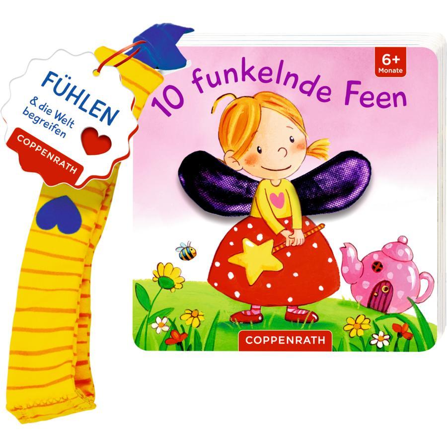 SPIEGELBURG COPPENRATH Mein erstes Fühl-Buch für den Buggy: 10 funkelnde Feen