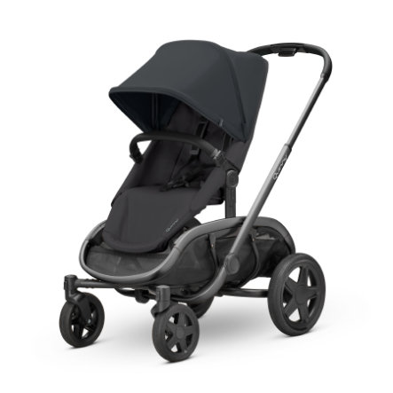 Quinny Kinderwagen Hubb Black on Black