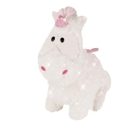 NICI Theodor og Friends Cuddly Toy Unicorn Baby Theofina 26 cm sidder 43256