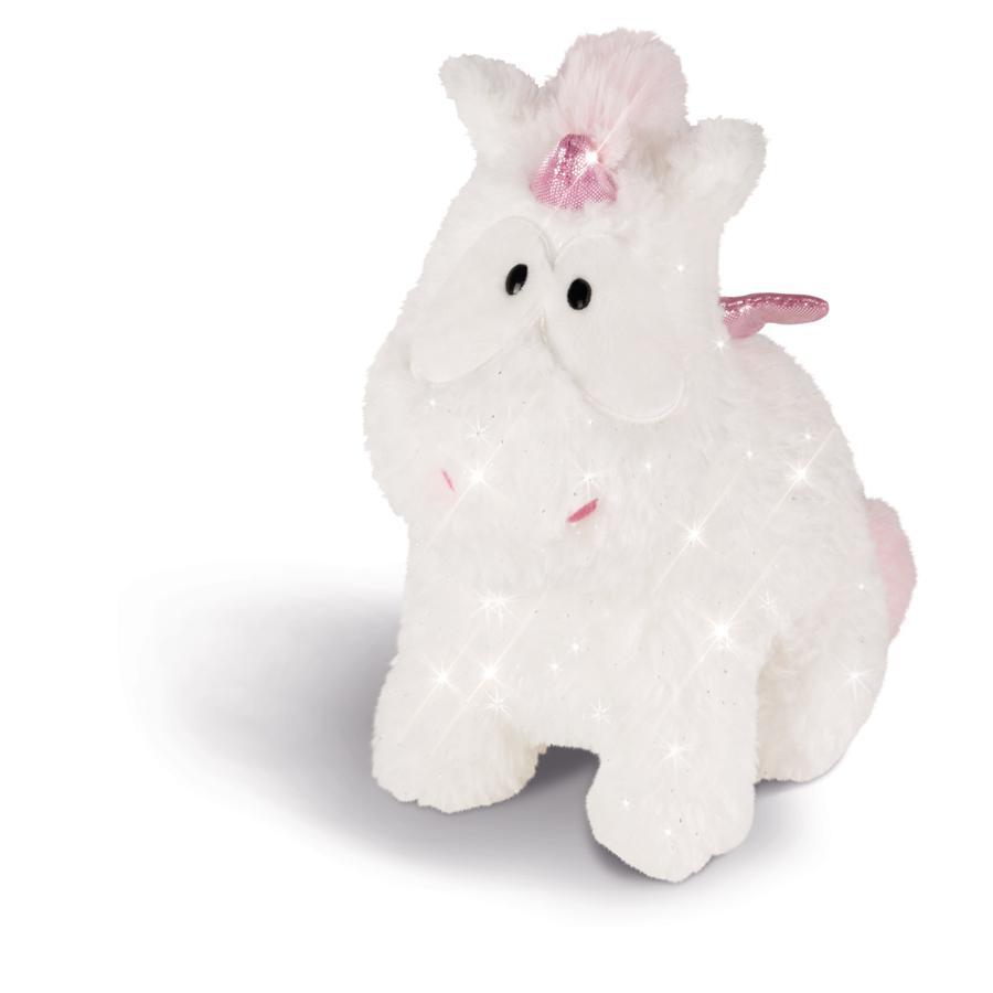NICI Theodor i Friends Cuddly Toy Unicorn Baby Theofina 22 cm siedzący 43254
