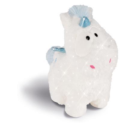 NICI Theodor a přátelé plyšová hračka Unicorn Baby Theolino 26 cm stojící 43257
