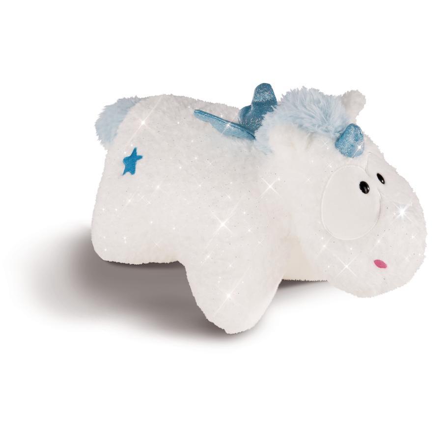 NICI Theodor a přátelé Cuddly Toy Cushion Unicorn Baby Theolino 33 x 24 cm 43259