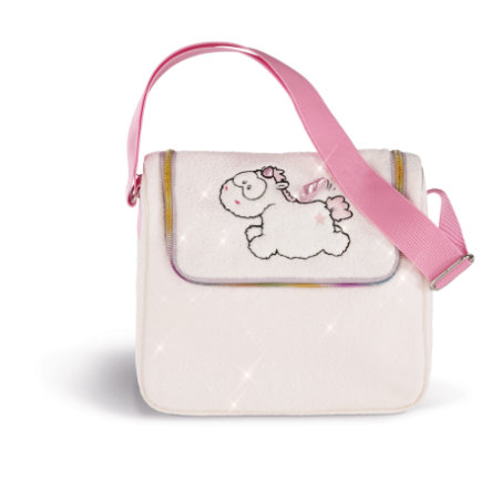 NICI Theodor and Friends Kindergartentasche Einhorn-Baby Theofina 27 x 23 x 10 cm 43263