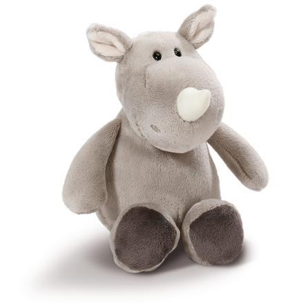 NICI Wild Friend s peluche en peluche rhinocéros 20 cm mince 43627