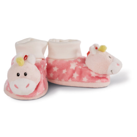 NICI Mis first NICI Baby zapatos Unicorn Stupsi 43655