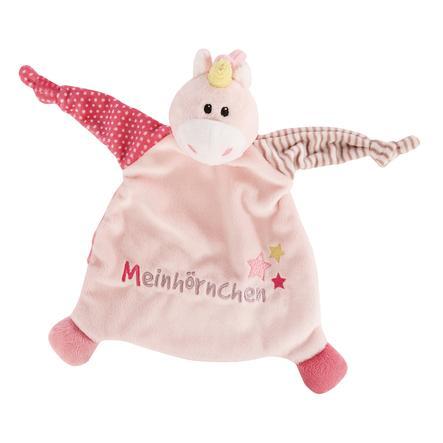 NICI My Cuddle first NICI Towel Unicorn Stupsi Meinhörnchen 43658