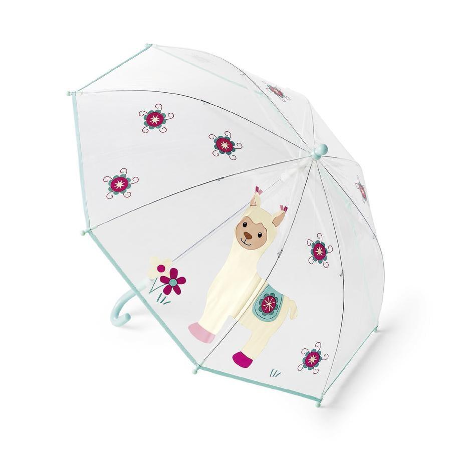 Sterntaler Regenschirm Kuschelzoo Lama Lotte