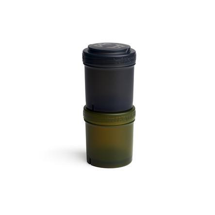 Herobility Aufbewahrungsbehälter 2 x 100 ml schwarz/olivgrün