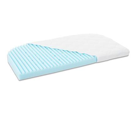 babybay Matelas pour lit cododo Maxi/Boxspring Medicott Wave bleu 49,5x89x6 cm