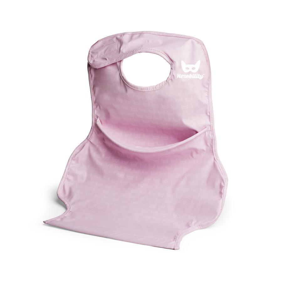 Herobility Slabbetje Bib Connect pink