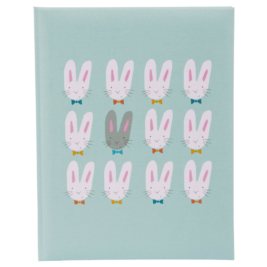 goldbuch Babytagebuch - Cute bunnies blue