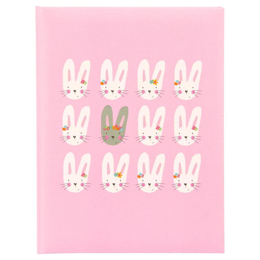 goldbuch Babytagebuch - Cute bunnies pink