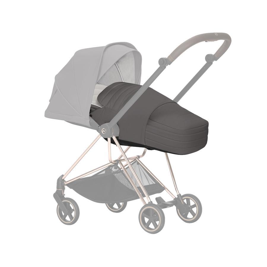 cybex PLATINUM Kinderwagenaufsatz Lite Cot Manhattan Grey
