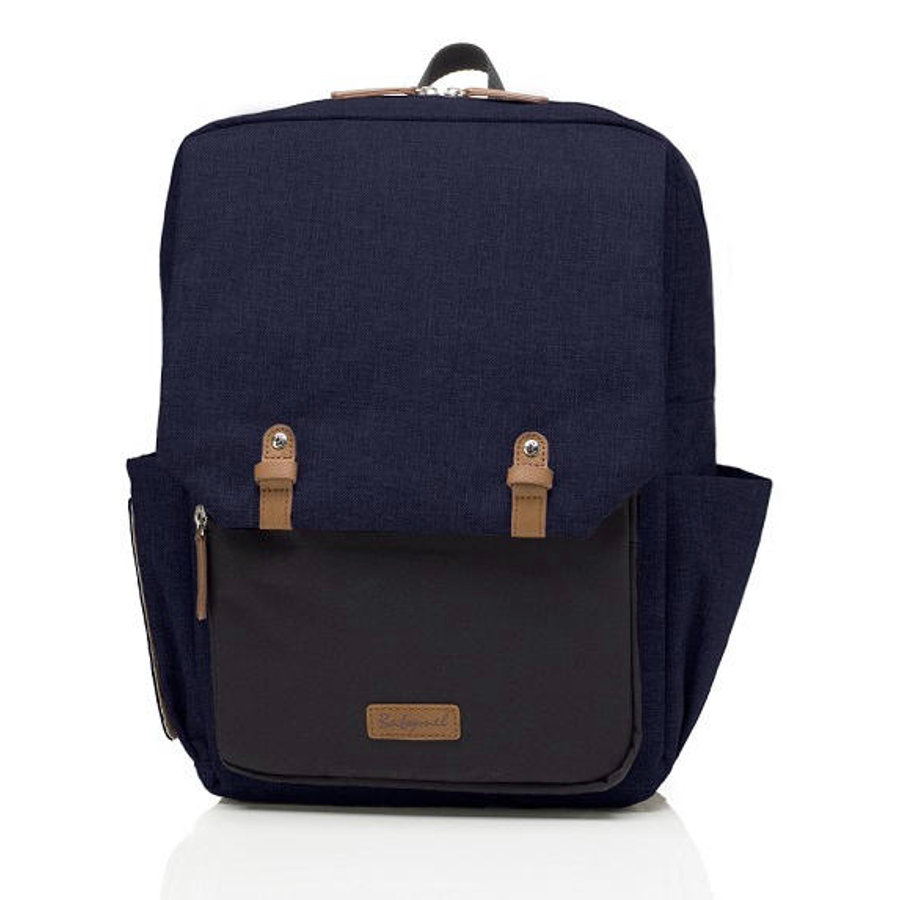 Babymel Wickelrucksack George Black-Navy