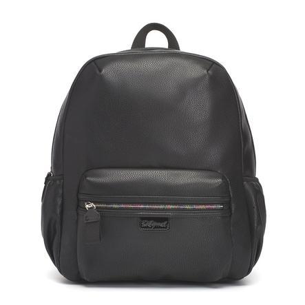 Babymel  Cambiar la mochila Luna Faux Leather Black