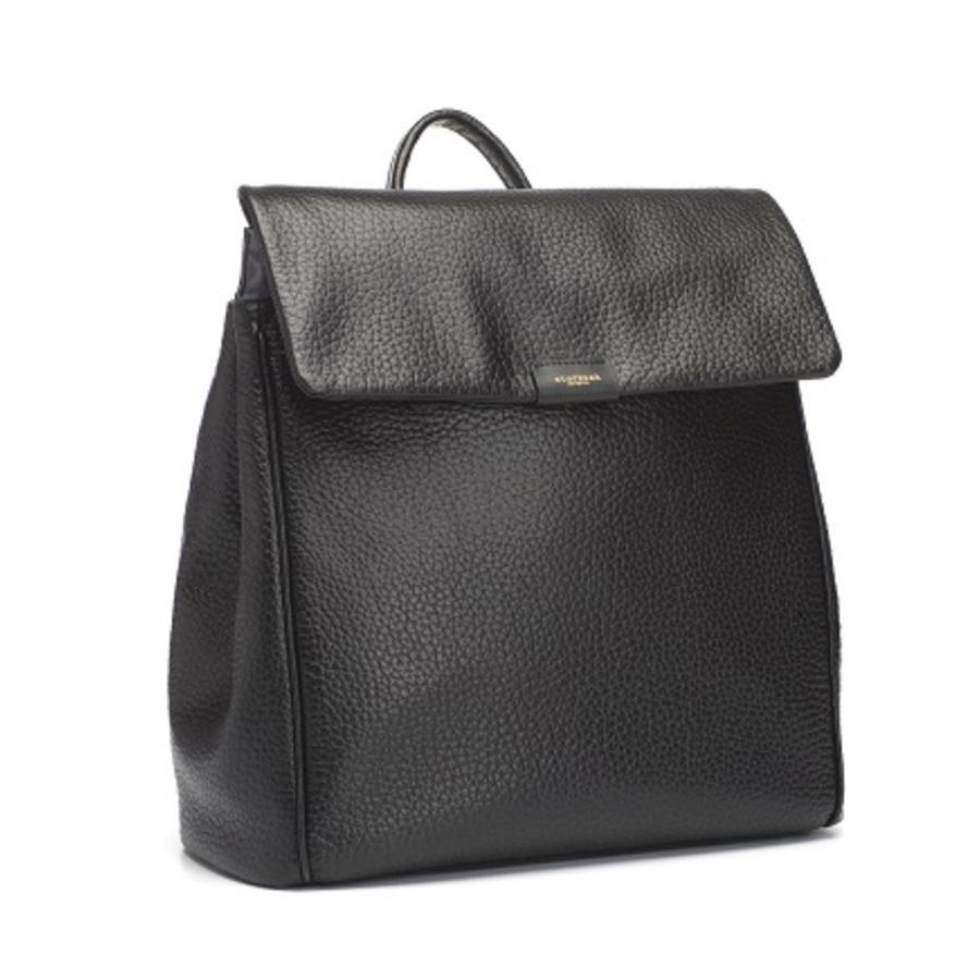 storksak Wickelrucksack St James Leather Black