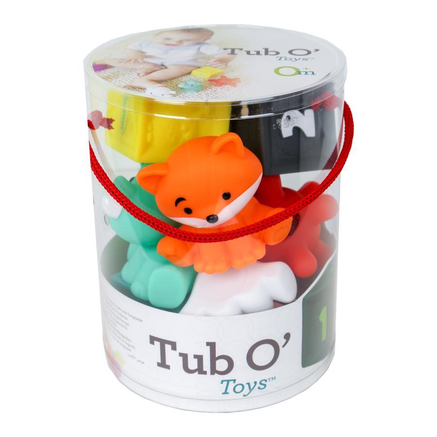 Infantino Jeu d'éveil jouets sensoriels Tub O'