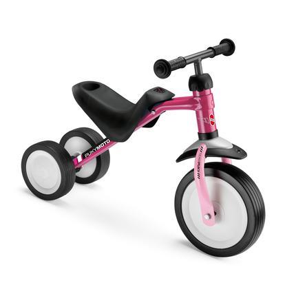 PUKY® Pukymoto® kolmipyörä, ruusunpunainen