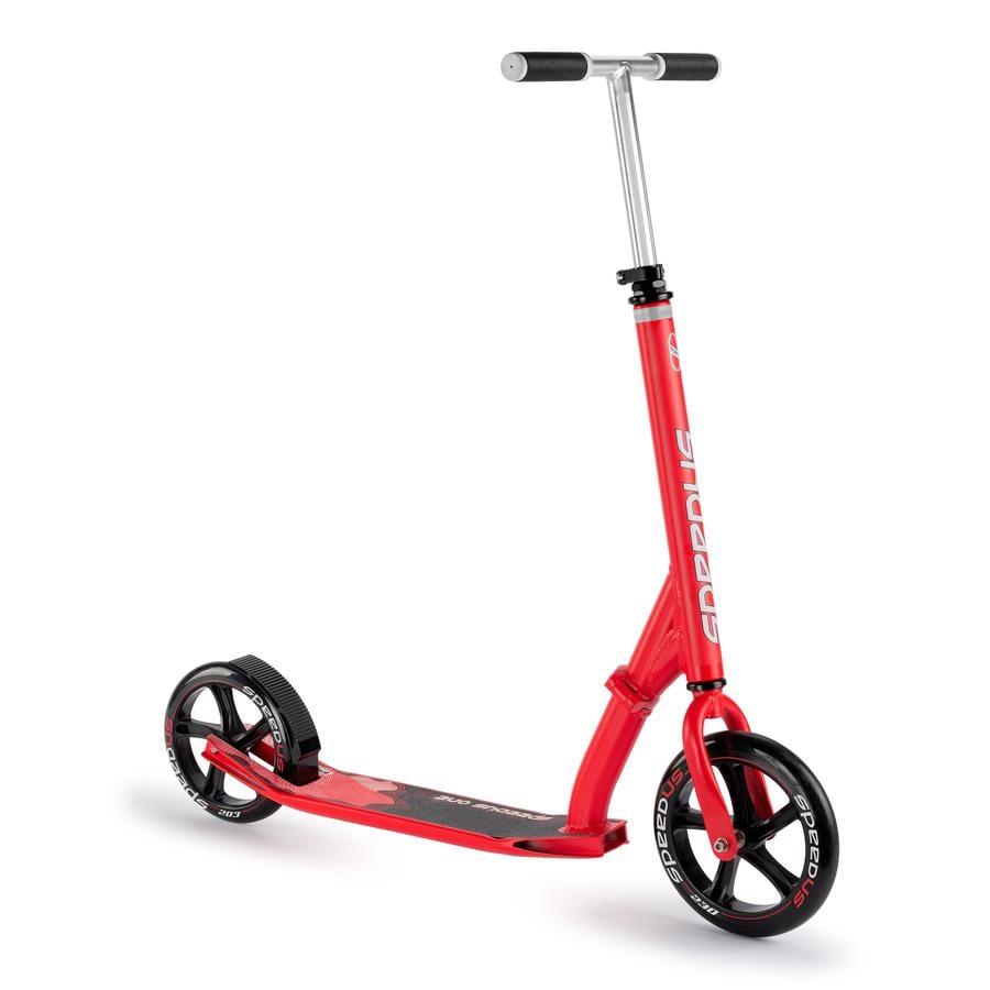 PUKY ® Scooter Speedus One, röd 5000