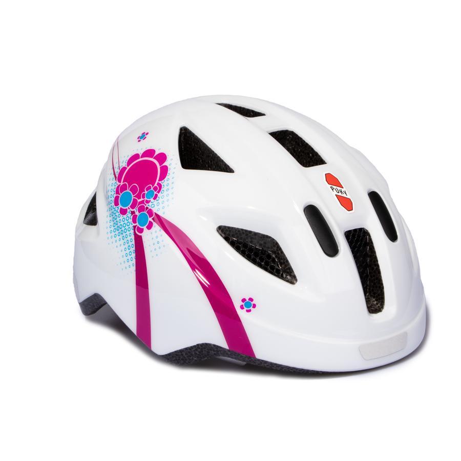 PUKY® Fahrradhelm PH 8 Größe: S/M weiß/pink 9593