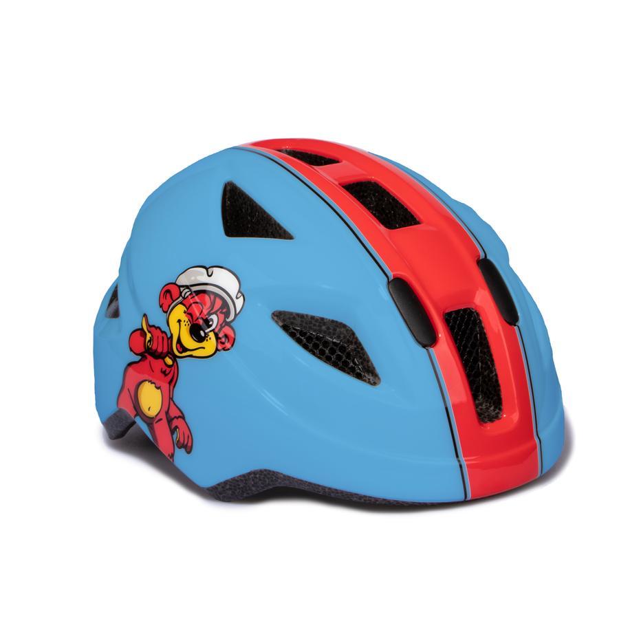 PUKY Casco para bicicleta PH 8 Talla: S/M azul/rojo 9594