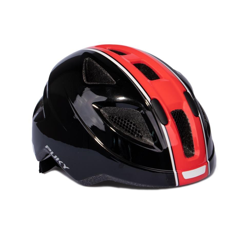 PUKY® Fahrradhelm PH 8 Größe: M/L schwarz/rot  9596
