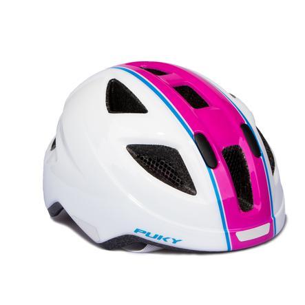 Cyklistická přilba PUKY PH 8 velikost: M / L bílá / růžová 9595