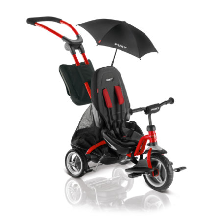 PUKY® Driewieler CAT S6 ceety®, rood 2417
