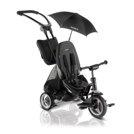 PUKY® Trehjuling CAT S6 ceety®, svart 2418
