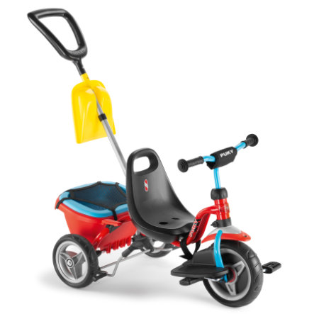 PUKY Driewieler CAT 1 S rood/blauw 2441