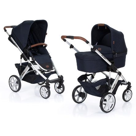 ABC DESIGN kinderwagen Salsa 4 incl. zitje en reiswieg shadow