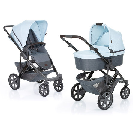 ABC DESIGN Passeggino Salsa 4 incl. seduta sportiva e navicella ice