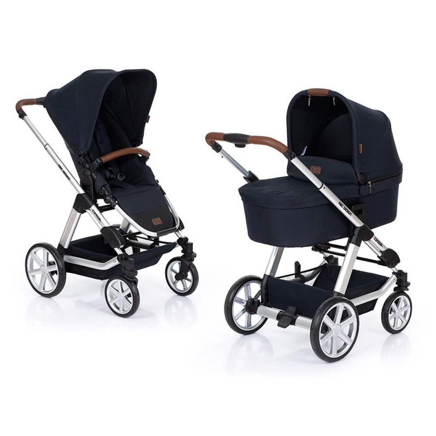 ABC DESIGN Passeggino combi Condor 4 incl. seduta sportiva e navicella shadow