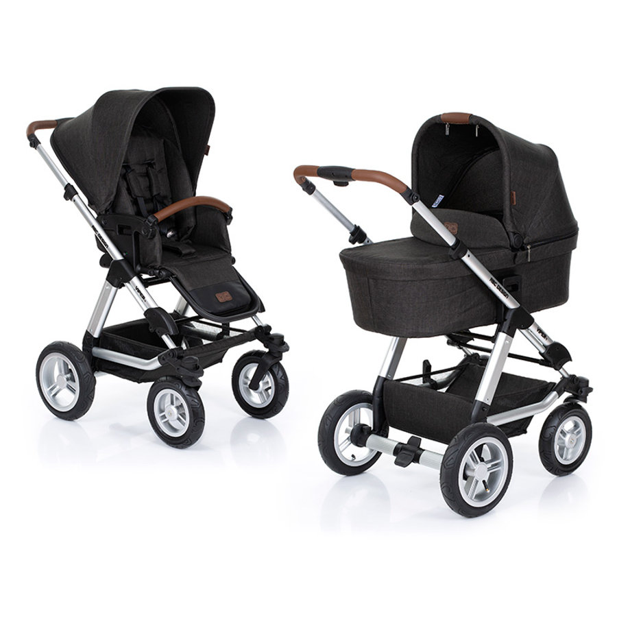 ABC DESIGN Passeggino duo Viper 4 incl. seduta sportiva e navicella piano