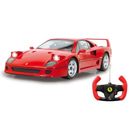 JAMARA Voiture radiocommandée Ferrari F40 rouge 27 MHz
